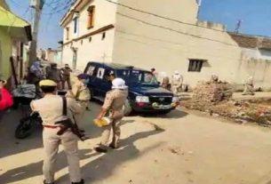 नमाज पढ़ने को लेकर दो गुटों में पथराव और फायरिंग , तीन गिरफ्तार