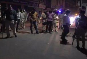 पुलिस टीम पर हमला गोधरा