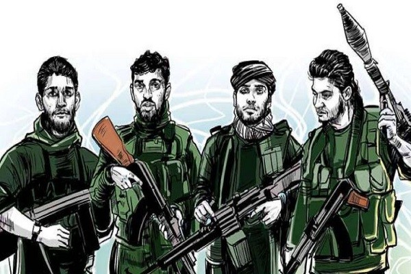 कश्मीरी मुस्लिम आतंकवादी