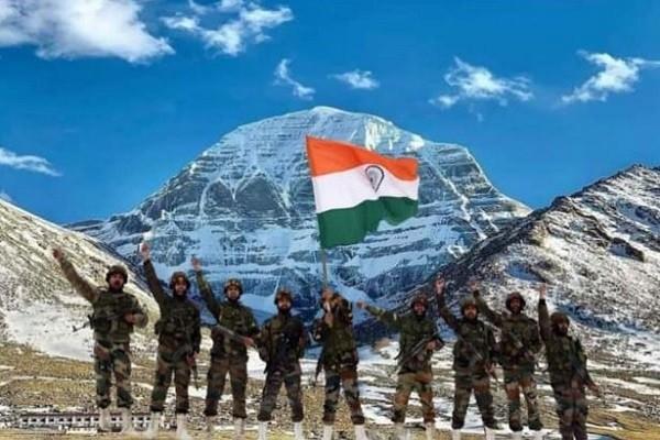कैलाश मानसरोवर भारतीय सेना