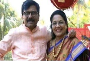 संजय राउत की पत्नी
