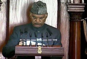 बजट 2021 : संसद का बजट सत्र शुक्रवार को राष्ट्रपति राम नाथ कोविंद के अभिभाषण के साथ शुरू हुआ, जो बजट सत्र शुरू होने से पहले दिया.......