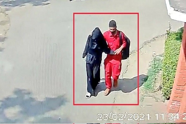 नाबालिग का आरोपी मेहताब : उत्तर प्रदेश के आगरा के दयालबाग से एक 9वीं क्लास में पढ़ने वाली नाबालिग छात्रा के अपहरण का मामला चर्चा............